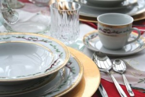 Antique China Placesetting